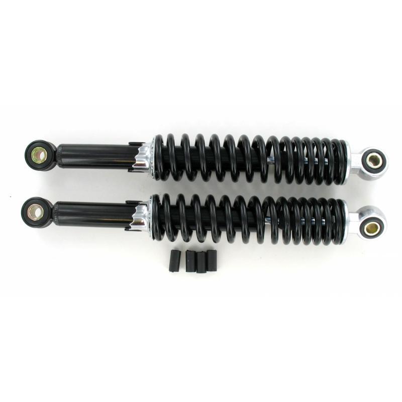 Paire d'amortisseurs mécaniques réglables noirs 320 mm