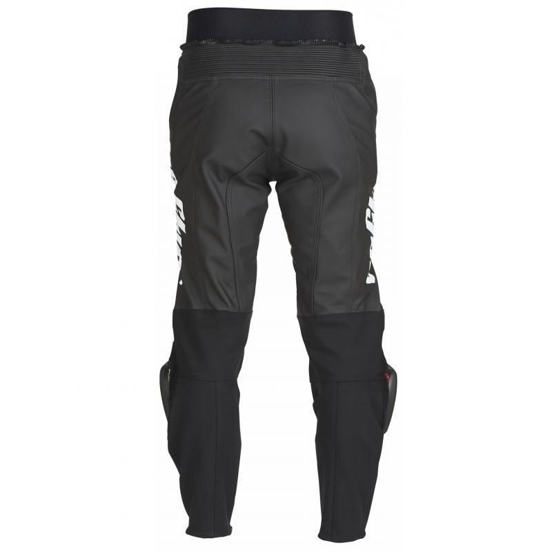 Pantalon cuir Furygan Bud Evo 3 noir/blanc - 1