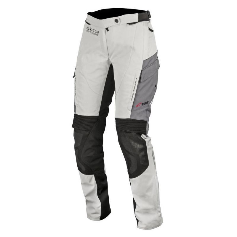 Pantalon textile Alpinestars Stella andes V2 Drystar gris clair/noir/gris foncé