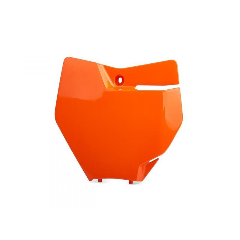 Plaque numéro frontale Polisport KTM 450 SX-F 16-17 orange