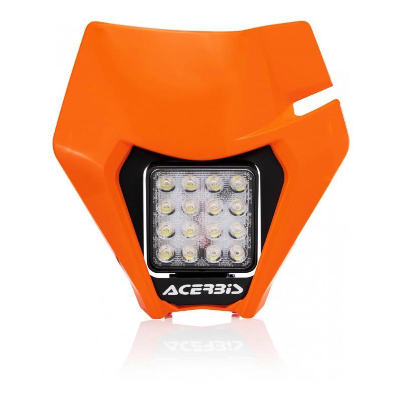 Plaque phare Acerbis VSL KTM EXC 150 TPI 2020 (orange 2)