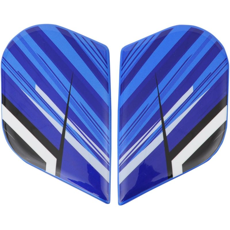 Plaques latérales Icon pour casque Alliance Overlord bleu