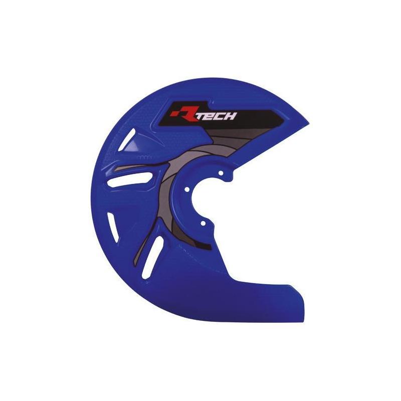 Protection de disque de frein avant RTech bleu (bleu YZ)