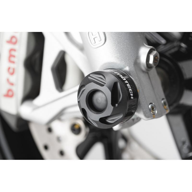 Protection de fourche avant SW-MOTECH noir Versys 1000, ZX-6R 636, Nuda 900 - 1