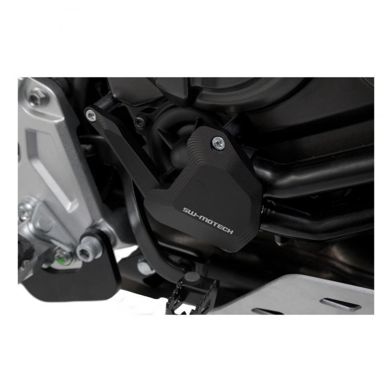 Protection de pompe à eau SW-Motech noire Yamaha Ténéré 700 18-20 - 1