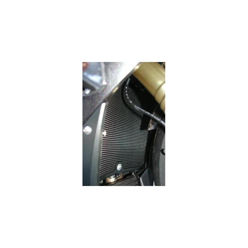 Protection de radiateur d'eau noire R&G Racing Suzuki GSX 1300 R Hayabusa 08-17