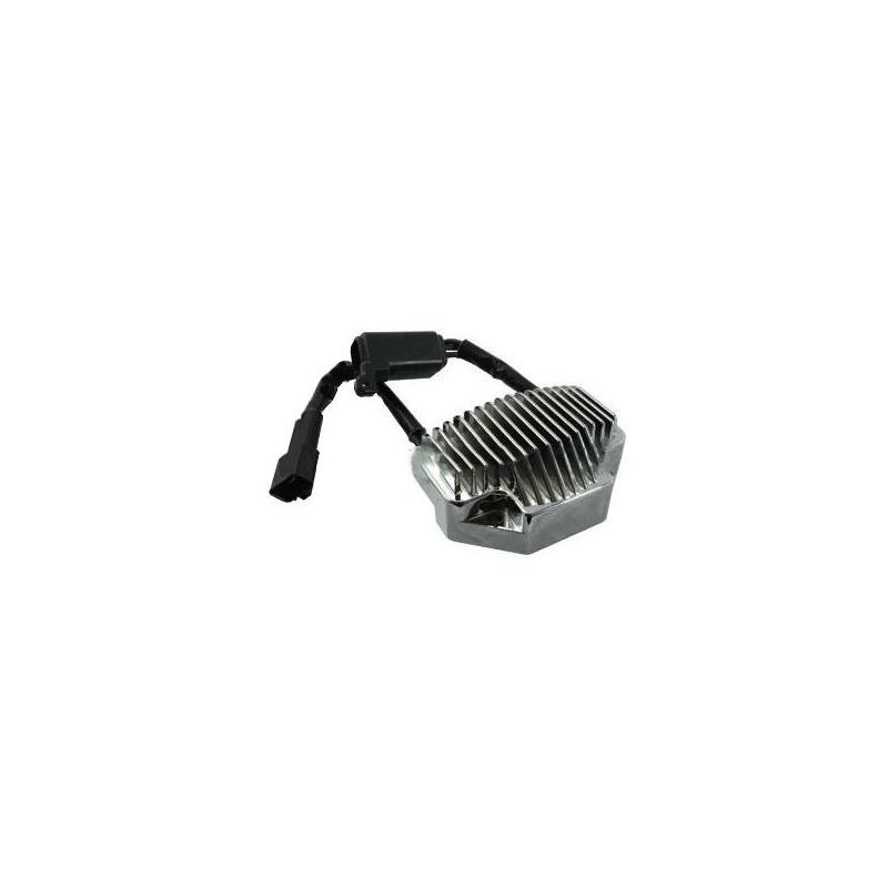 Régulateur de tension chromé Harley Davidson FXDLI 1450 Dyna Low Rider EFI 04-05