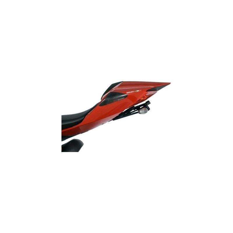 Slider de coque arrière R&G Racing carbone Ducati Panigale 1199 12-14