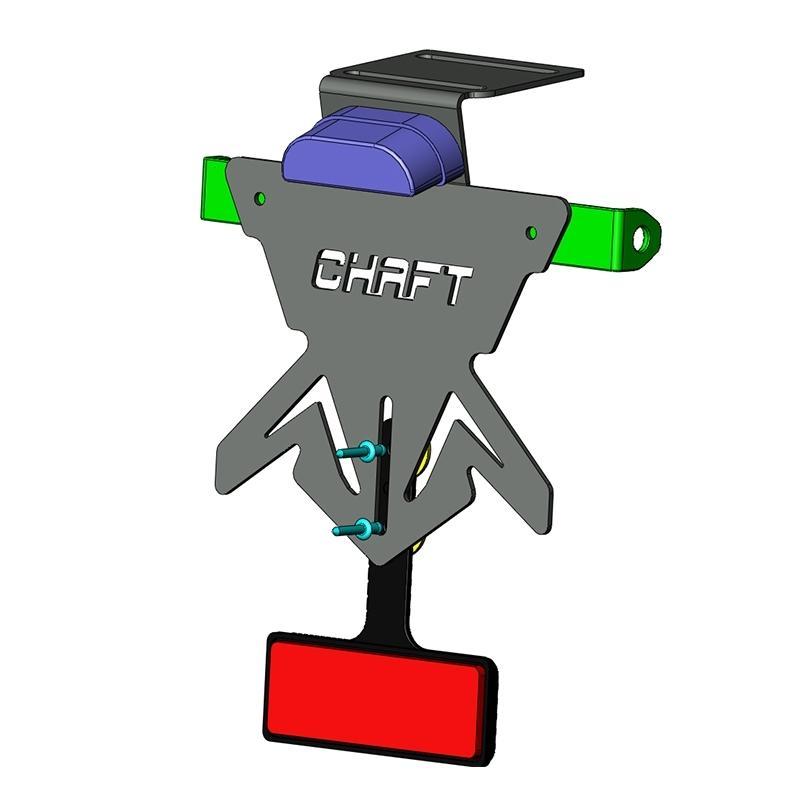 Support de plaque Chaft Universel - 1