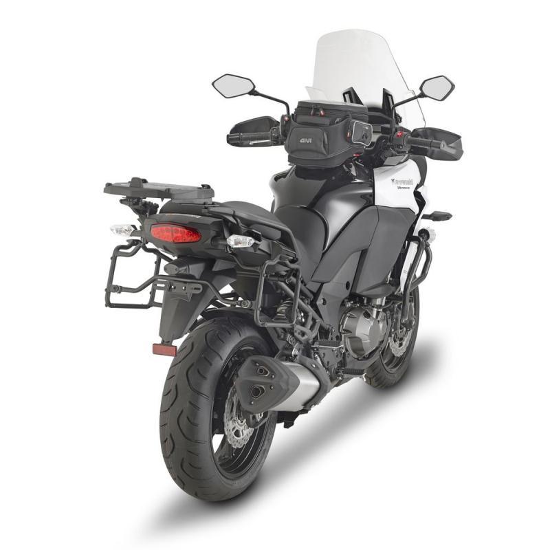 Supports à liaison rapide pour valises latérales Givi Kawasaki Versys 1000 15-