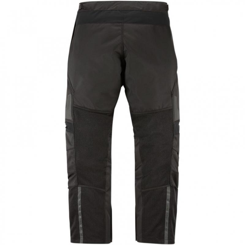 Sur-pantalon textile Icon Contra 2 noir - 1