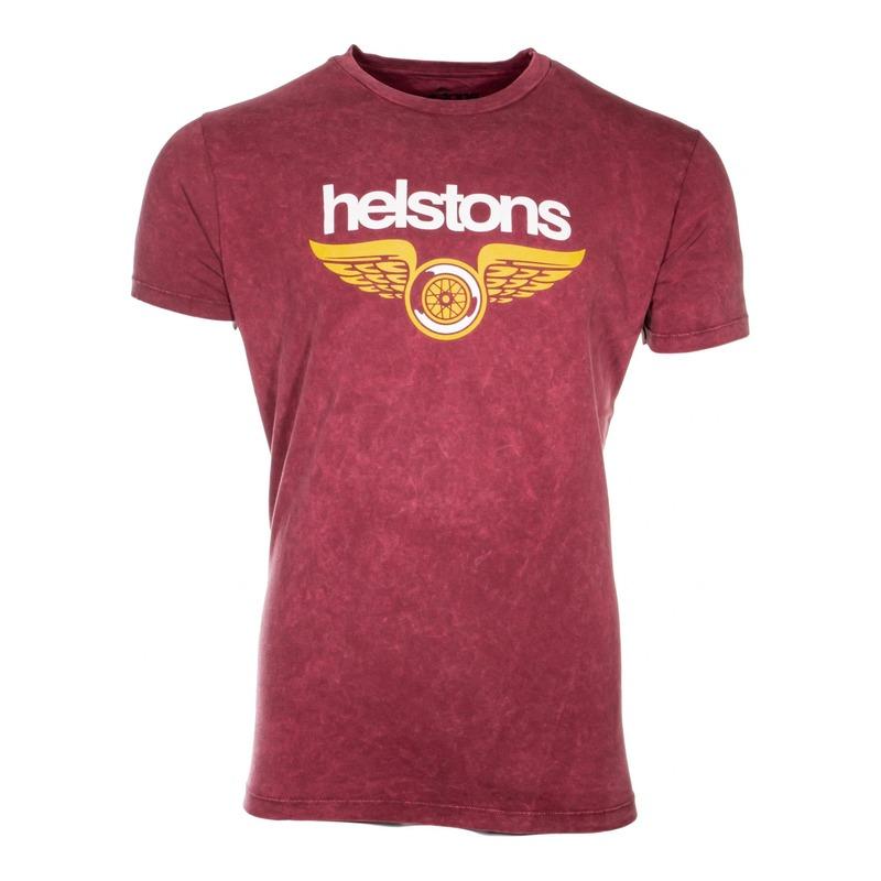 Tee-shirt Helstons Wings bordeaux