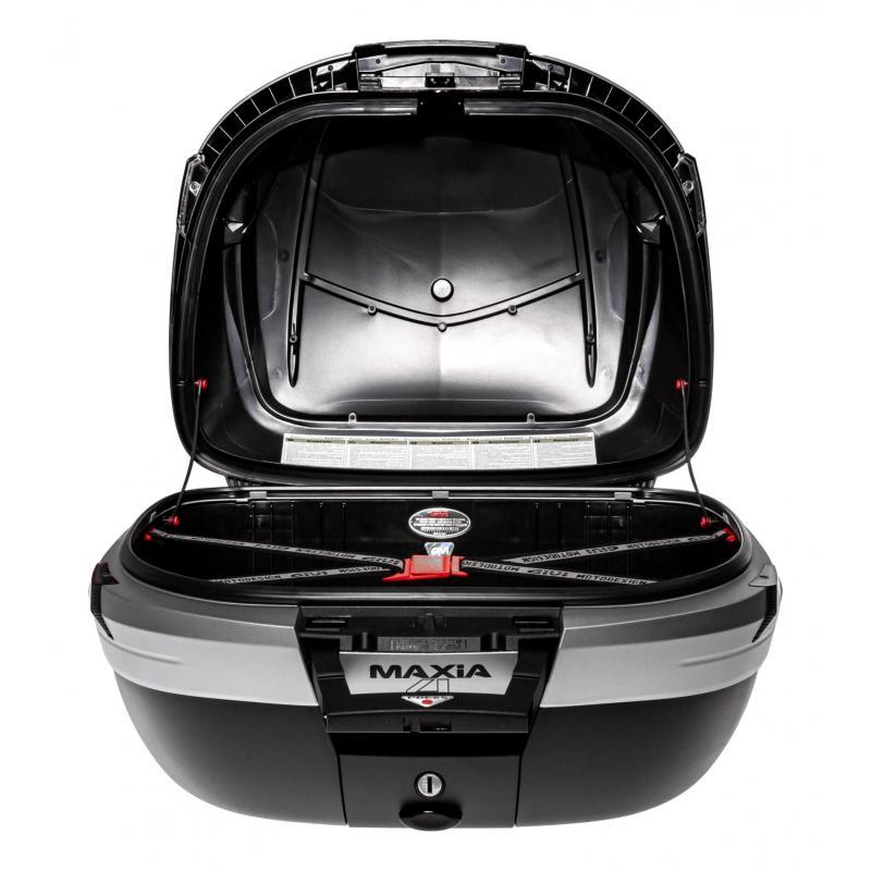 Top case Givi V56 MAXIA4 56L noir/carbone catadioptres fumés - 2