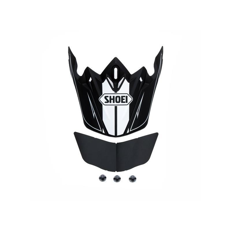 Visière de casque Shoei VFX-W Hectic TC1 noir/blanc