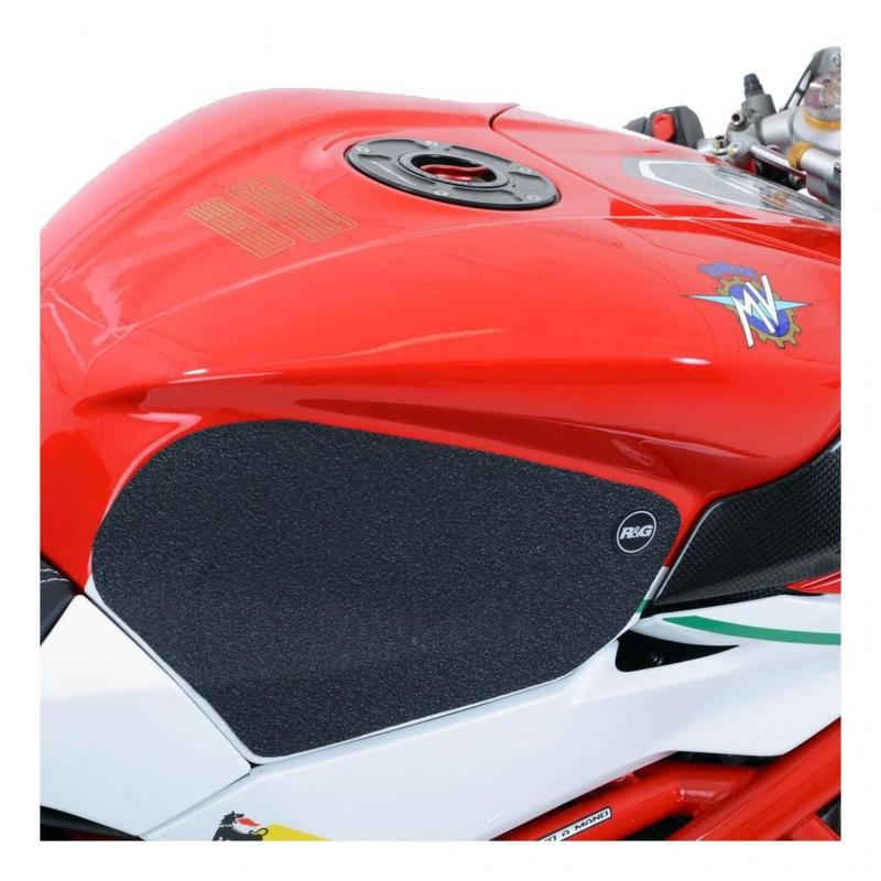 Kit grip de réservoir R&G Racing translucide MV Agusta Brutale 800 13-17
