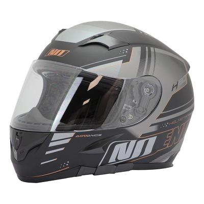 Casque intégral Noend H20-Advance by ASD Racing noir/brun