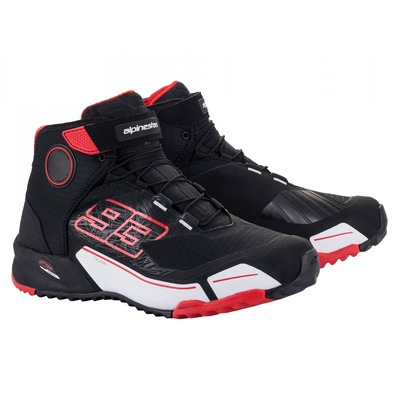 Chaussures moto Alpinestars Marc Marquez CR-X noir/rouge/blanc