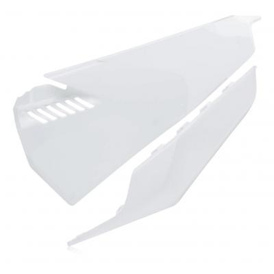 Plaques numéro latérales ventilées Acerbis Vented Husqvarna 250 FC 19-20 (blanc 2)