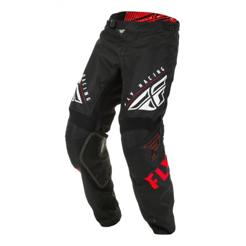 Pantalon cross Fly Racing Kinetic K220 rouge/noir/blanc