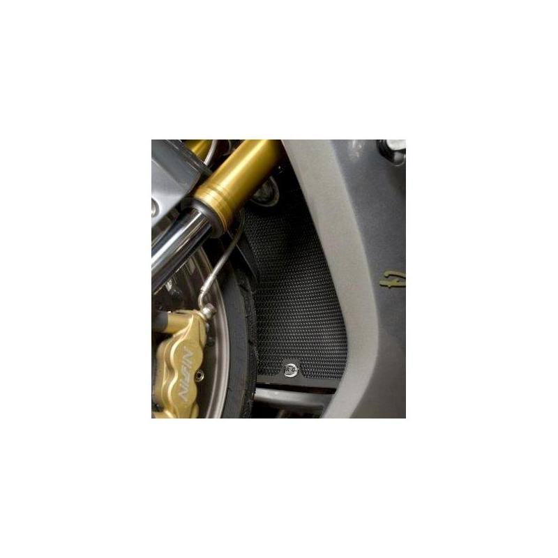 Protection de radiateur noire R&G Racing Triumph Daytona 675 05-12