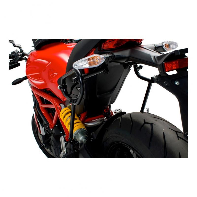 Support SLC SW-MOTECH gauche pour sacoches latérales legend Gear Ducati Monster 1200 S 16-18