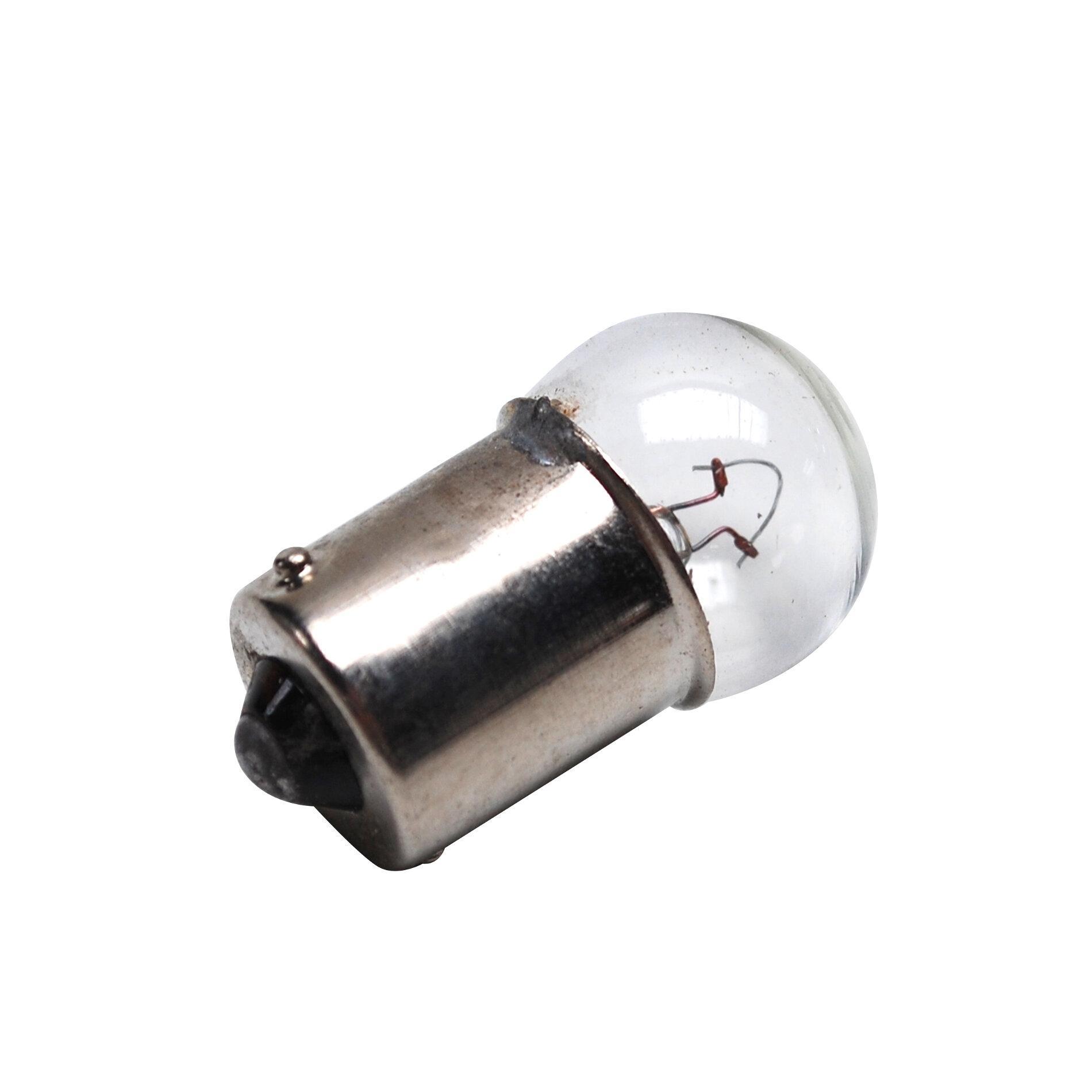 Ampoule BA15S G18.5 12V 10W Orange - Pièces Electrique sur La Bécanerie
