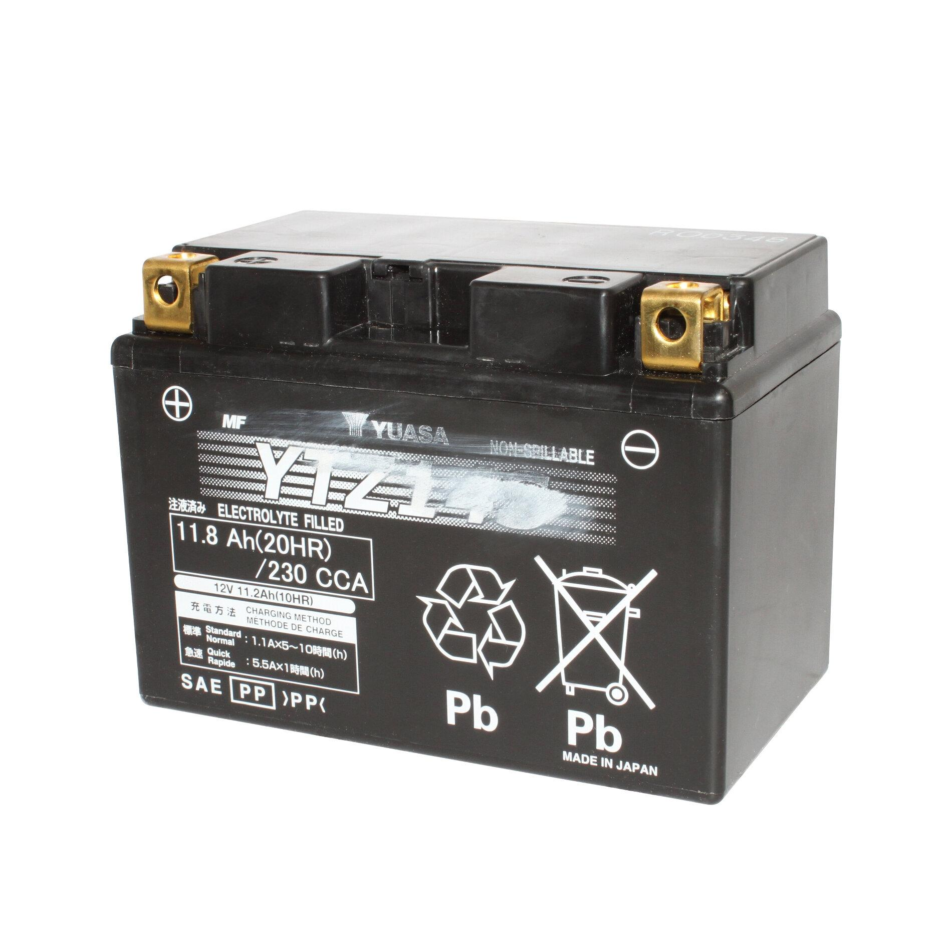 Batterie moto Yuasa YB14L-A2 12V 14AH 134X89X166MM | eBay