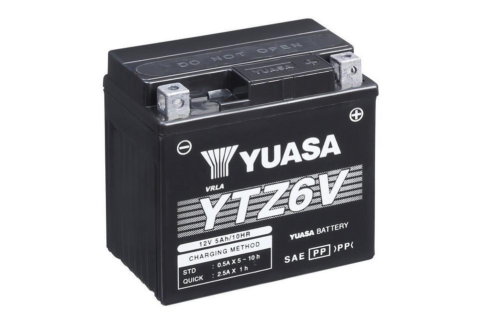 BATTERIA MOTO FIAMM MOTOR ENERGY FTX12-BS =YUASA YTX12-BS CON ACIDO 12V 10Ah AGM | eBay