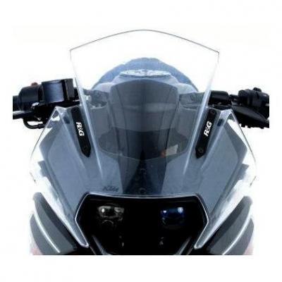 Caches orifices de rétroviseur R&G Racing noirs KTM RC 390 14-18