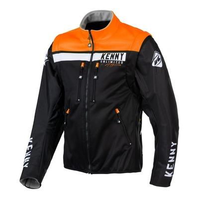Veste textile Kenny Softshell Enduro noir/orange