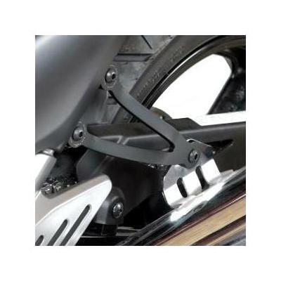 Patte de fixation de silencieux R&G Racing noire Suzuki GW 250 Inazuma 12-15