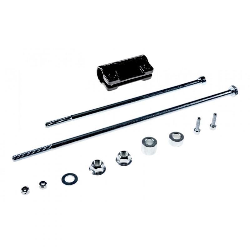 Barres de protection latérale SW-MOTECH noir Honda CBF 500 04-06 - 1