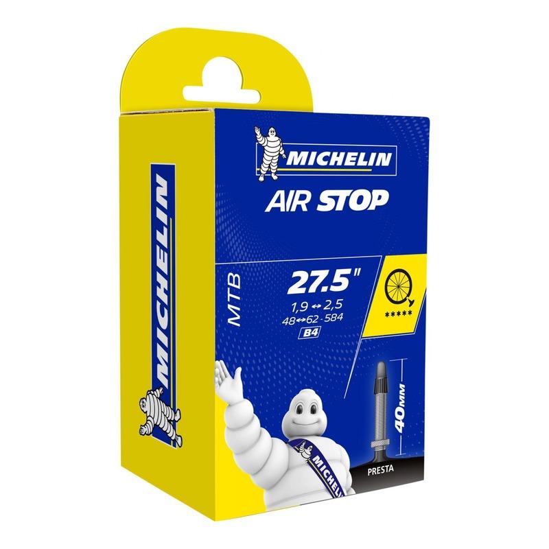 Chambre à air vélo Michelin Air Stop 27,5 x 1,9/2,6 B4 Presta 40mm