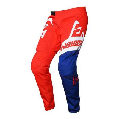 Pantalon cross enfant Answer Syncron Voyd Junior rouge/reflex/blanc