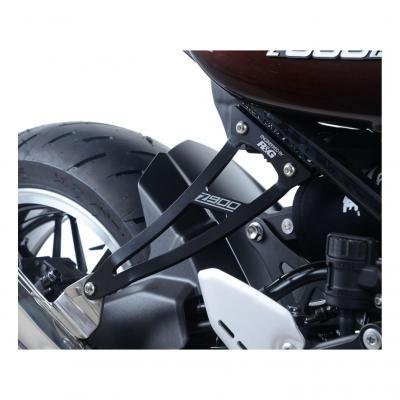 Patte de fixation de silencieux R&G Racing noire Kawasaki Z 900 RS 18-20