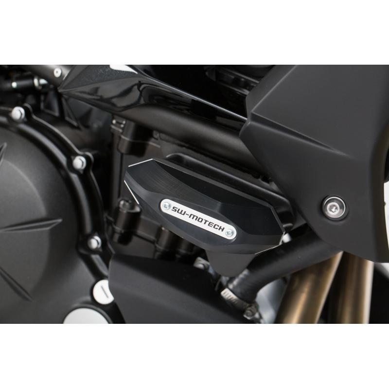 Kit de tampons de protection SW-MOTECH noir Kawasaki Versys 650 15- - 1
