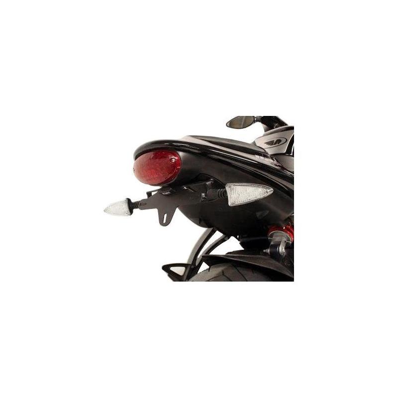Support de plaque d'immatriculation R&G Racing noir Triumph Daytona 675 06-12