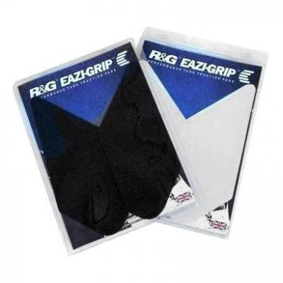 Kit grip de réservoir R&G Racing Eazi Grip translucide 26,5 x 11 cm