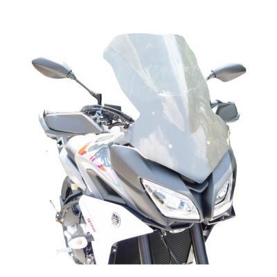 Pare-brise Bullster haute protection 57 cm fumé noir Yamaha MT-09 Tracer 2018