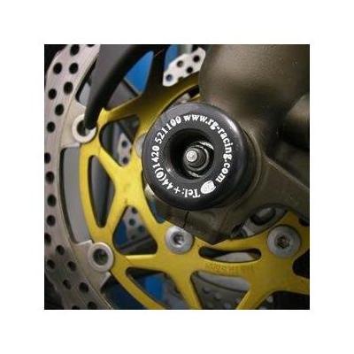 Tampons de protection de fourche R&G Racing noirs KTM EXC-F 450 09-18