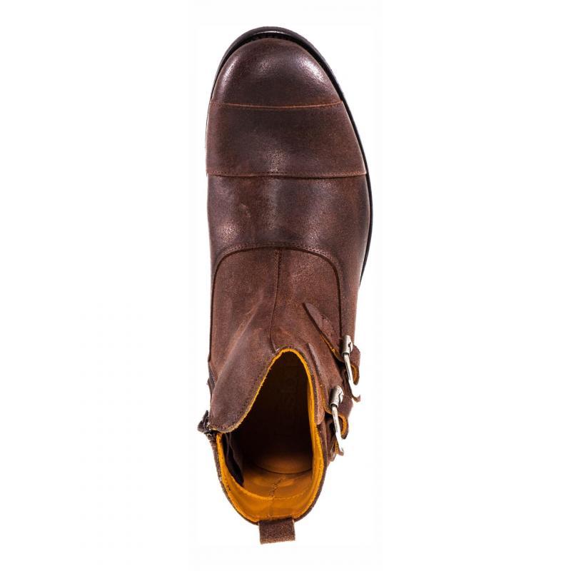 Bottines cuir Helstons Grant marron - 6