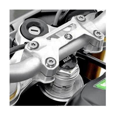 Insert écrou de direction R&G Racing noir BMW S 1000 RR 10-18
