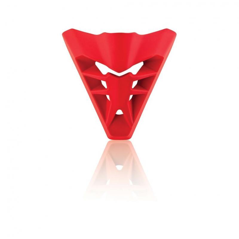 Ventilation avant Acerbis pour casque Profile 3.0 rouge mat