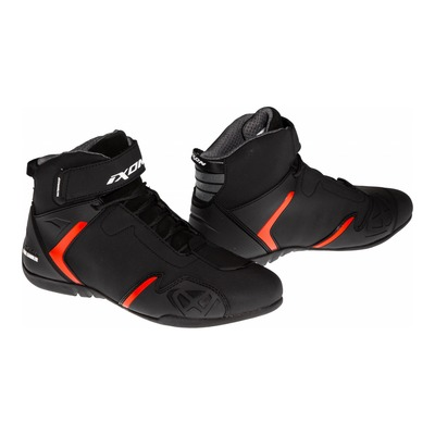 Basket moto Ixon Gambler WP noir/rouge