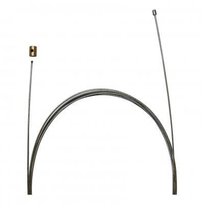 Câble de gaz universel pour Dellorto longueur 2,50 m avec serre câble