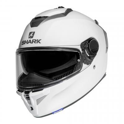 Casque intégral Shark Spartan GT Blank blanc brillant