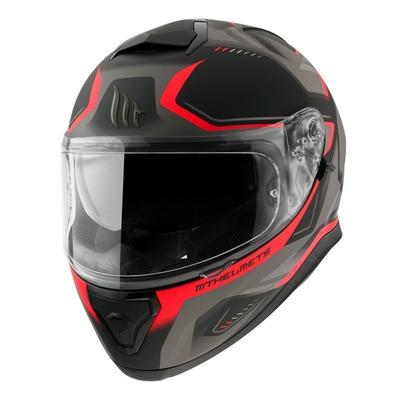 Casque jet MT Helmets Thunder 3 SV rouge mat
