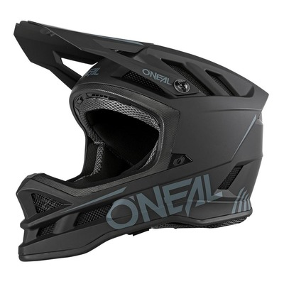 Casque vélo intégral O'Neal Blade Polyacrylite Solid noir