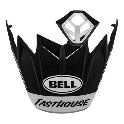 Casquette de casque cross Bell Moto-9 Fasthouse noir/blanc mat