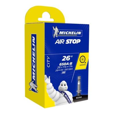 Chambre à air vélo Michelin Air Stop 650 x 35B- 27,5 x 1,50/1,70 B3 Regina 40mm